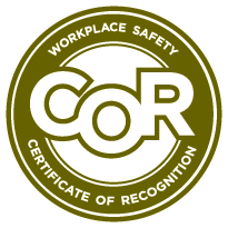 Workplace Saftey Certificate of Recognition